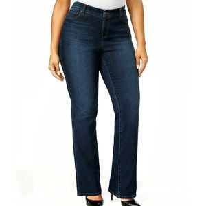 Style & Co Tummy Control Bootcut Jeans 18WP